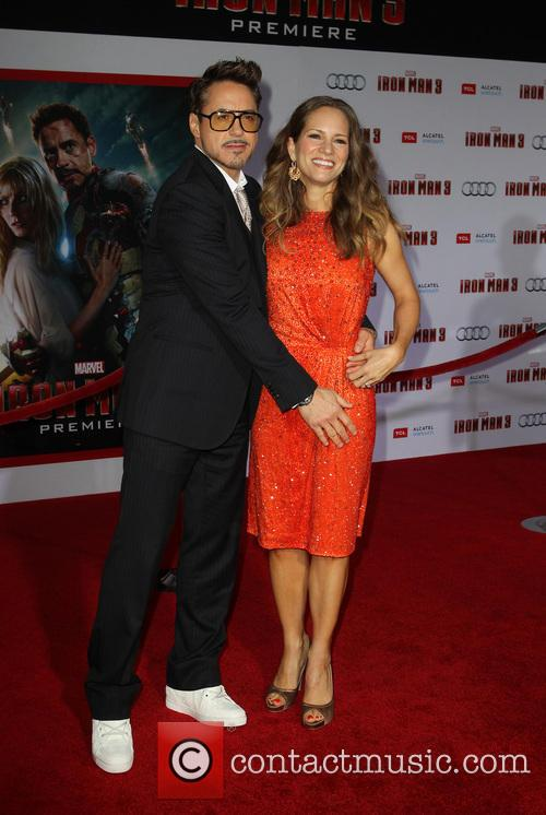 Robert Downey Jr and Susan Downey 2