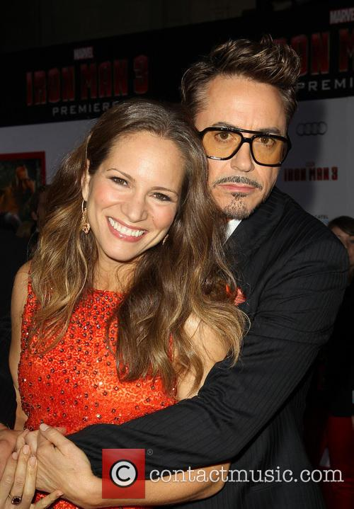 Robert Downey Jr and Susan Downey 5