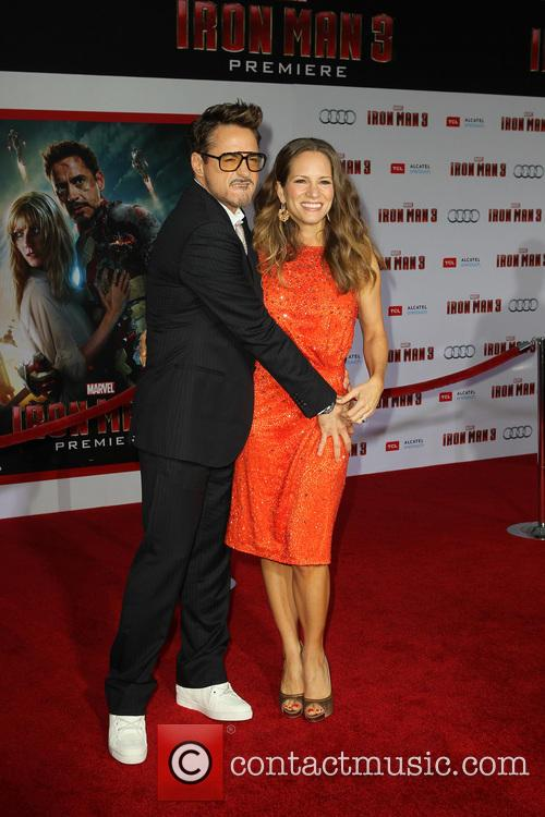 Robert Downey Jr and Susan Downey 6