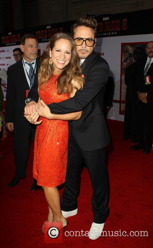 Robert Downey Jr and Susan Downey 8