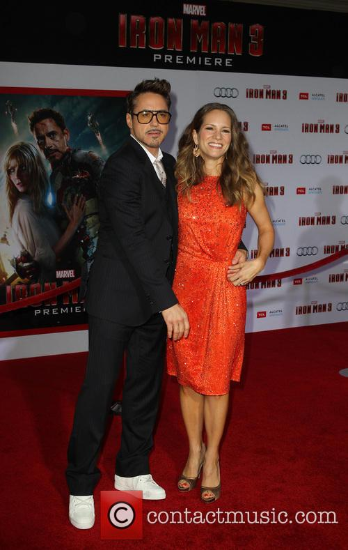 Robert Downey Jr and Susan Downey 9