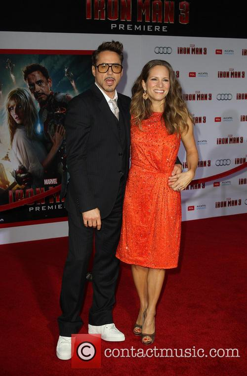 Robert Downey Jr, Susan Downey, El Capitan Theatre