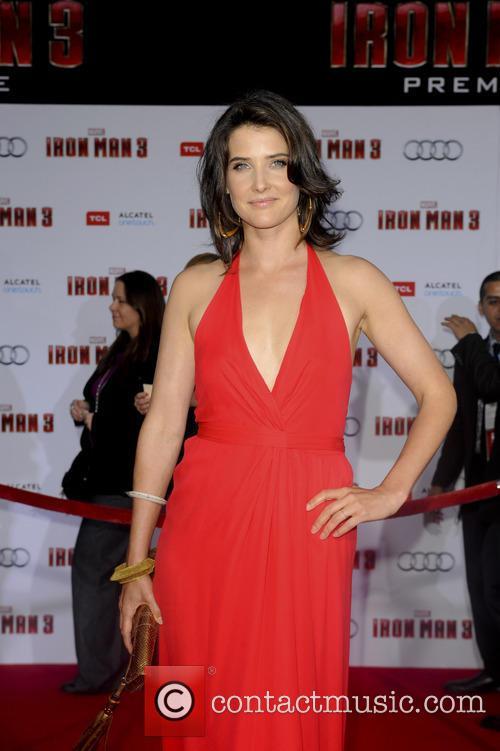 Cobie Smulders, Iron Man 3 Premiere