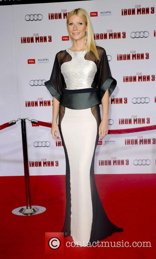 Gywneth Paltrow Iron Man 3 Premiere