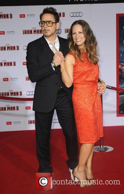 Robert Downey Jr. and Susan Downey 16