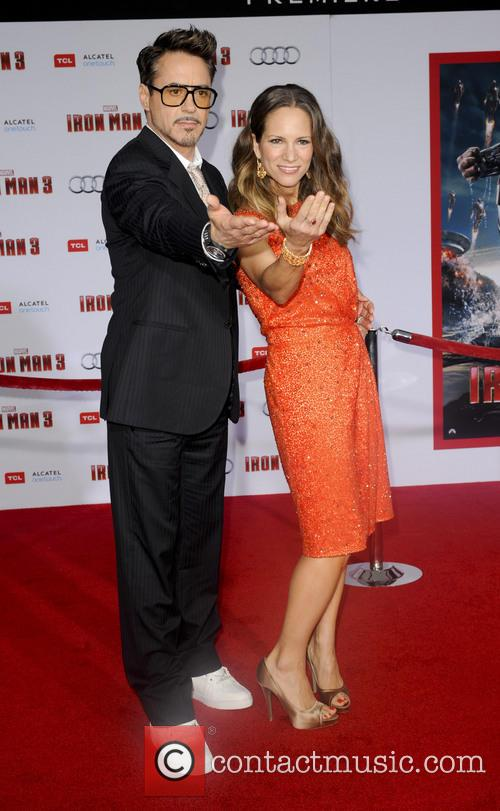 Robert Downey Jr. and Susan Downey 1