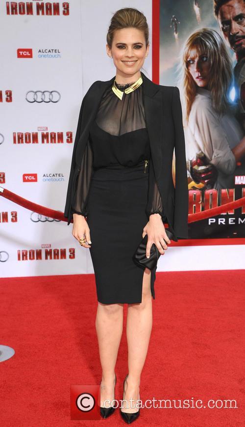 'Iron Man 3' Los Angeles premiere held at the El Capitan Theatre