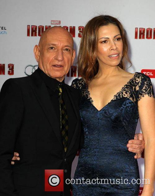 Ben Kingsley and Daniela Lavender 4