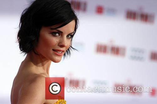 jaimie alexander film premiere of iron man 3627289