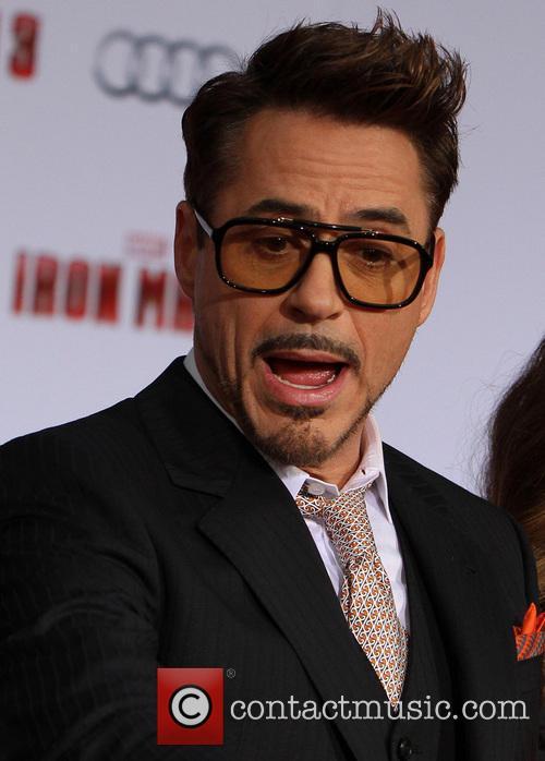 Robert Downey Jr Attends Iron Man 3 Premiere