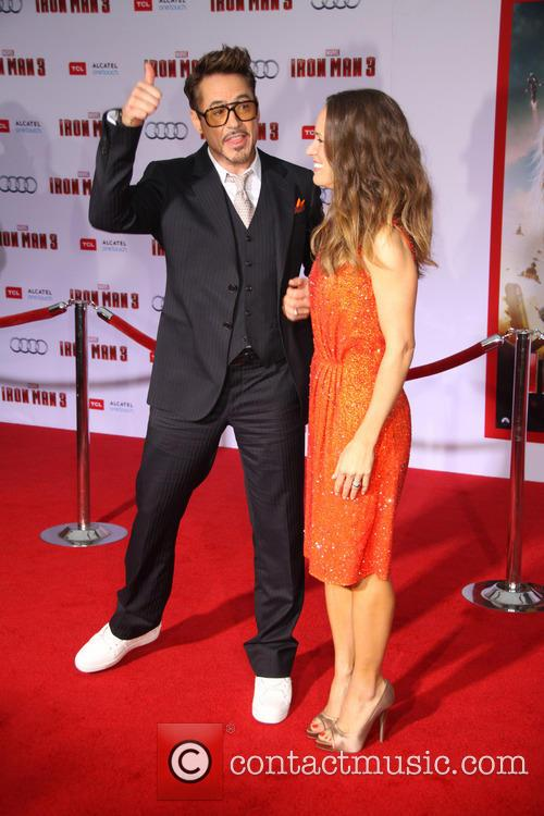 Robert Downey Jr. and Susan Downey 40