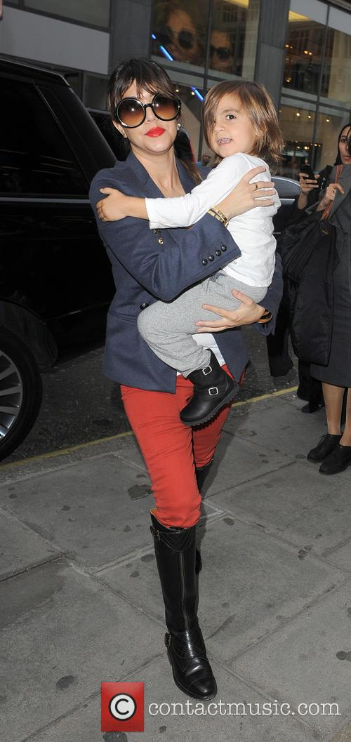 Mason Disick and Kourtney Kardashian 7