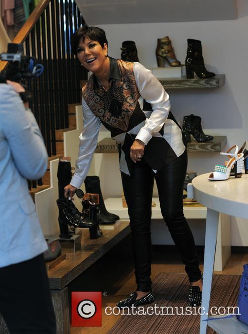 Kris Jenner and Kourtney Kardashian shopping in Browns Boutique