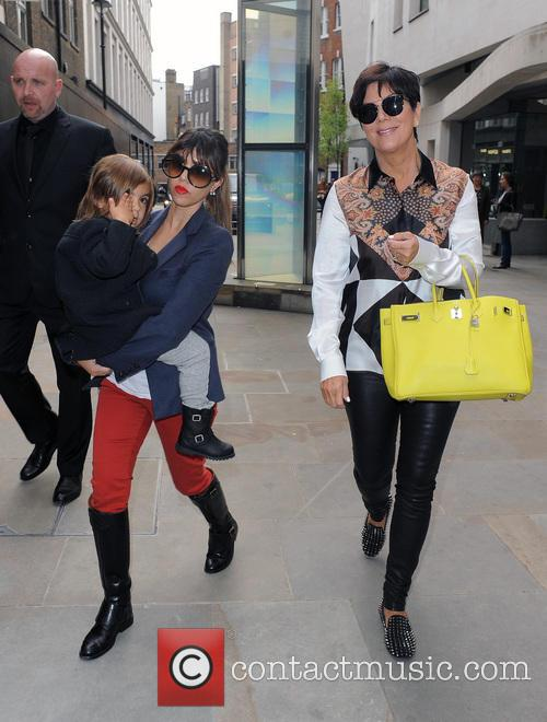Kourtney Kardashian, Mason Disick and Kris Jenner 2