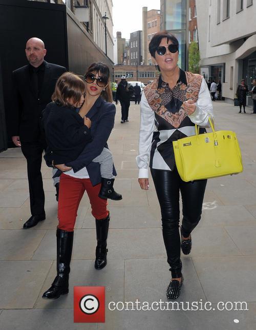 Kourtney Kardashian, Mason Disick and Kris Jenner 3