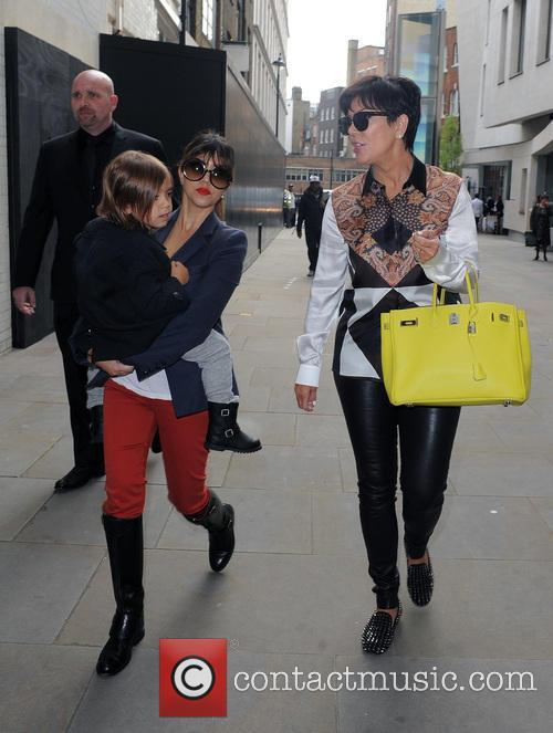 Kourtney Kardashian, Mason Disick and Kris Jenner 4
