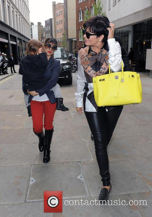 Kourtney Kardashian, Mason Disick and Kris Jenner 5