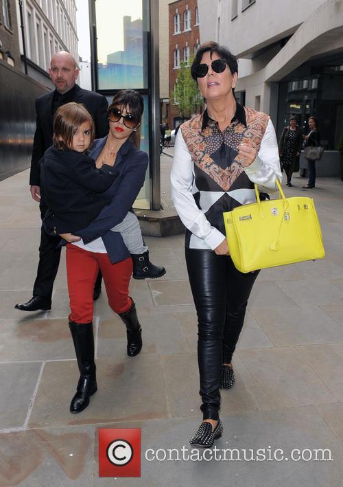Kourtney Kardashian, Mason Disick and Kris Jenner 6