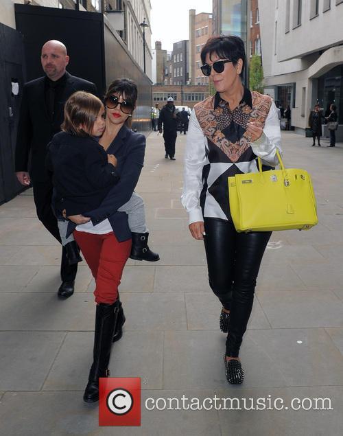 Kourtney Kardashian, Mason Disick and Kris Jenner 7