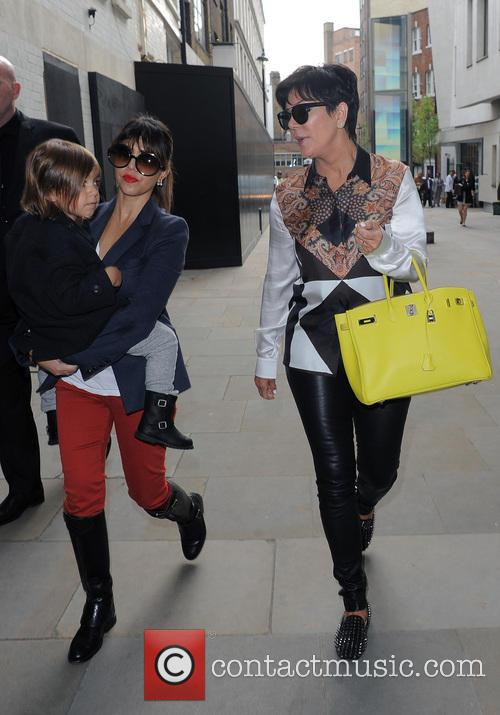 Kris Jenner, Mason Disick and Kourtney Kardashian 4