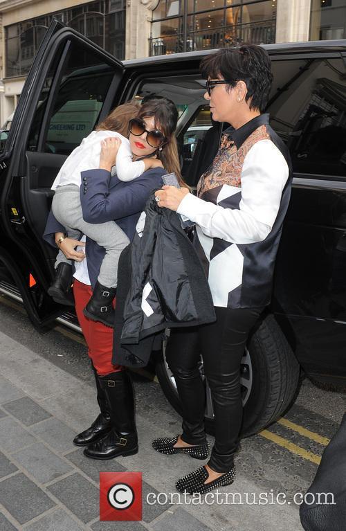 Kris Jenner and Kourtney Kardashian shopping on South...