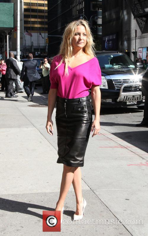 Kate Hudson, Ed Sullivan Theater, The Late Show