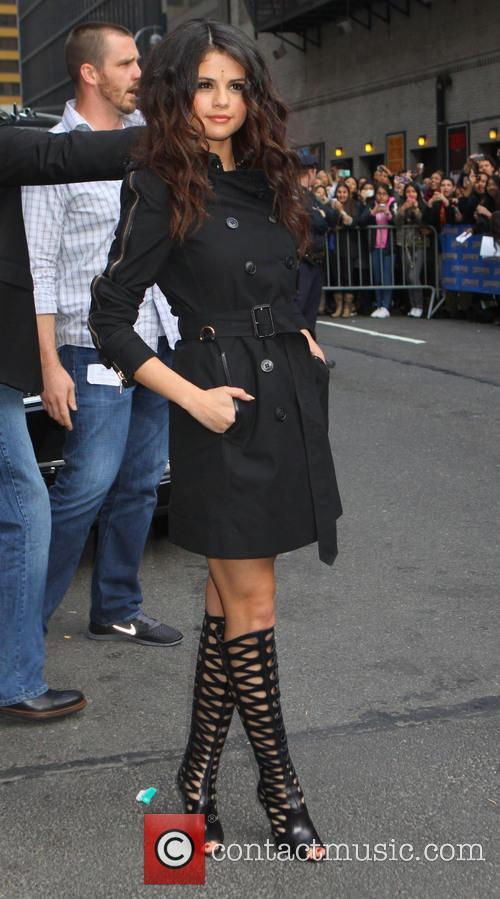 Selena Gomez, Ed Sullivan Theater, The Late Show