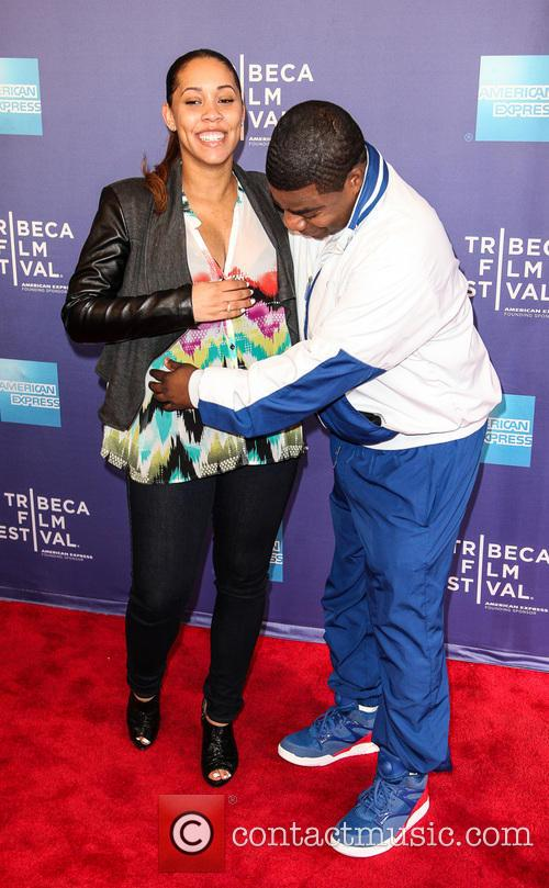 Tracy Morgan and Megan Wollover 2