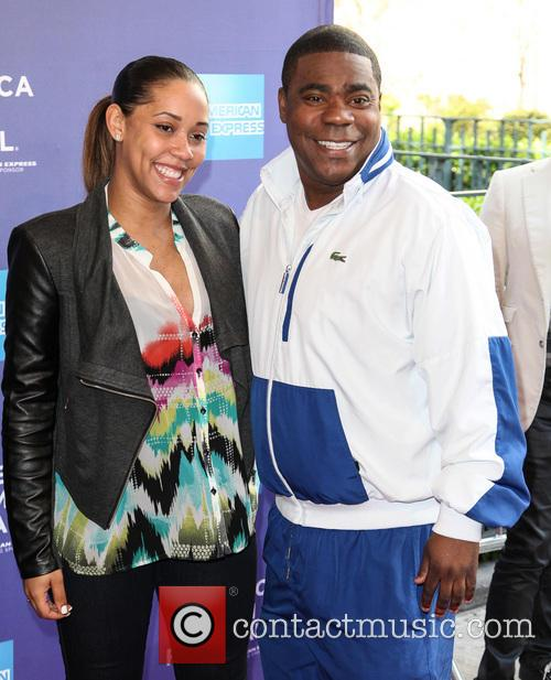 Tracy Morgan and Megan Wollover 4