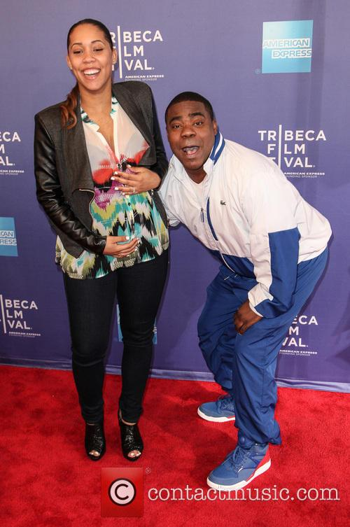 Tracy Morgan and Megan Wollover 6