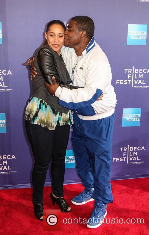 Tracy Morgan and Megan Wollover 1