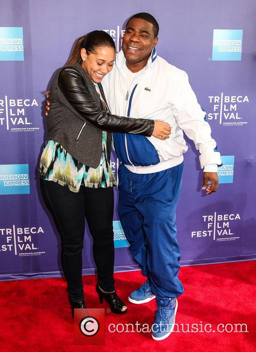 Tracy Morgan and Megan Wollover 7
