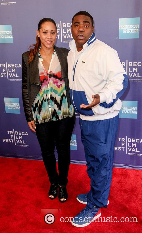 Tracy Morgan and Megan Wollover 8