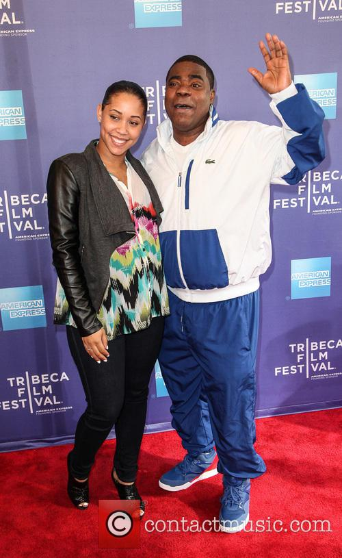 Tracy Morgan and Megan Wollover 10