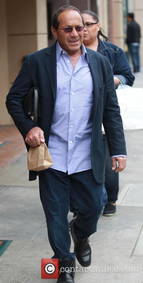 Paul Anka Leaving A Doctors Office