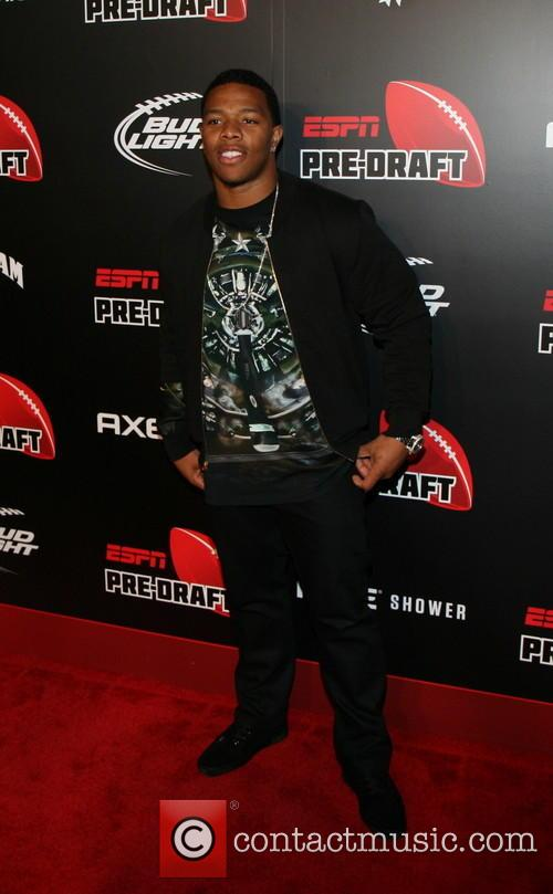 ray rice 10th annual pre draft party 3627925