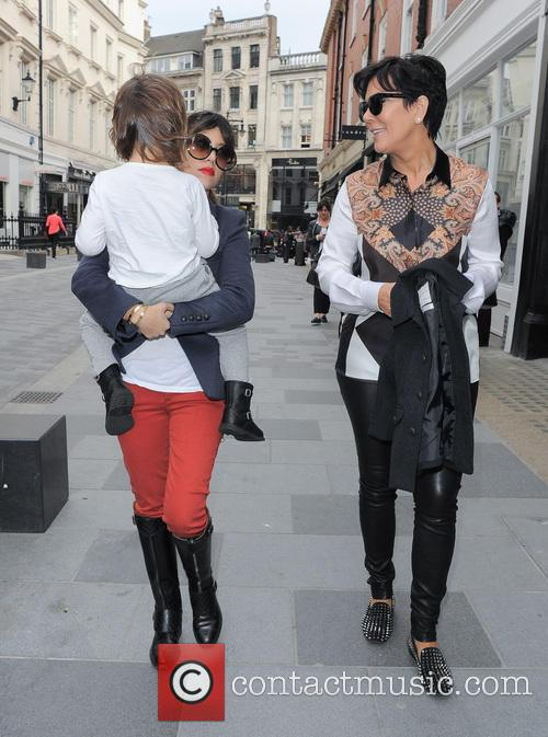 Kourtney Kardashian, Kris Jenner and Mason Disick 3