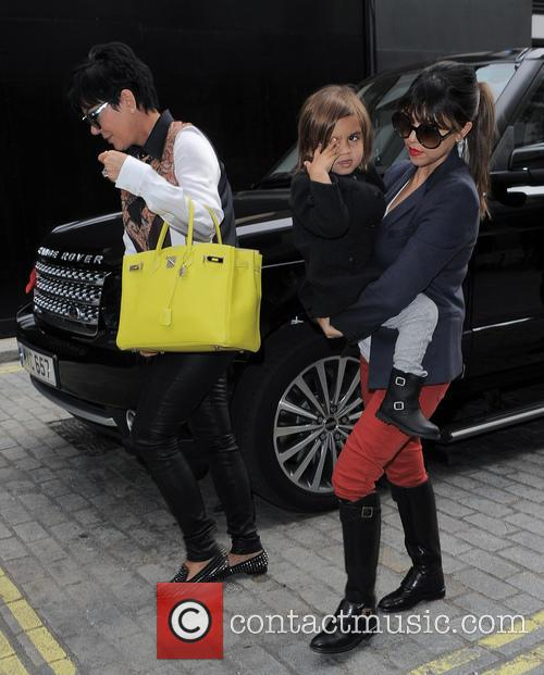 Kourtney Kardashian, Kris Jenner and Mason Disick 7