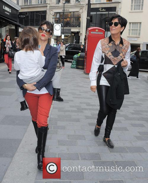 Kourtney Kardashian, Kris Jenner and Mason Disick 9