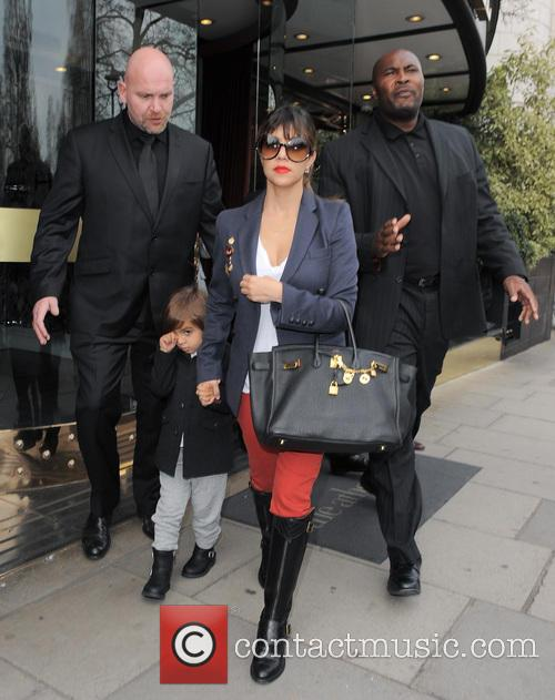 Kourtney Kardashian, Kris Jenner and Mason Disick 14
