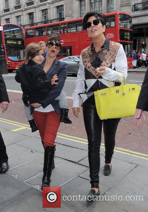 Kourtney Kardashian, Kris Jenner and Mason Disick 17