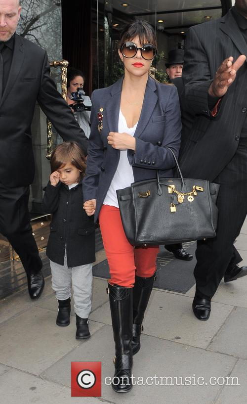 Kourtney Kardashian, Kris Jenner and Mason Disick 19