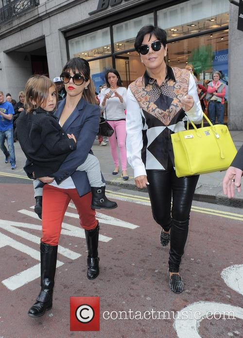 Kourtney Kardashian, Kris Jenner and Mason Disick 20