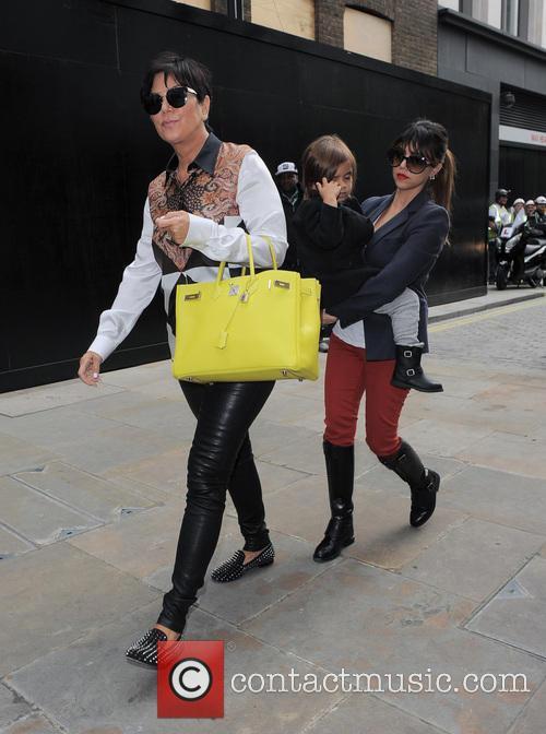 Kourtney Kardashian and Kris Jenner 8