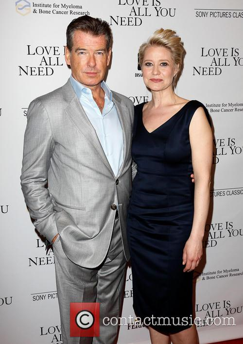 Pierce Brosnan and Trine Dyrholm 8