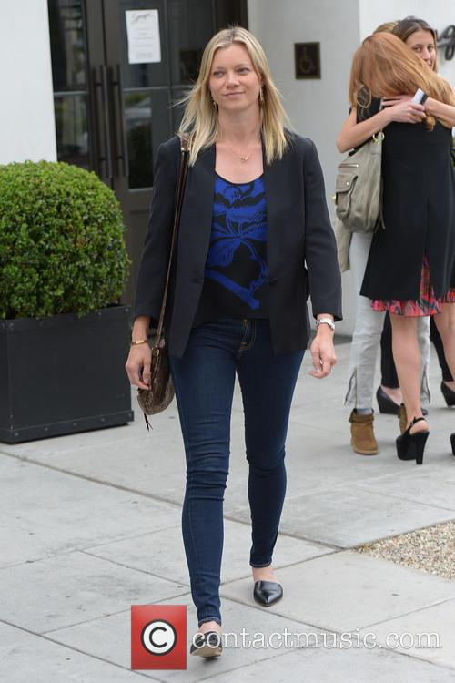 Amy Smart Has Lunch at Spagos
