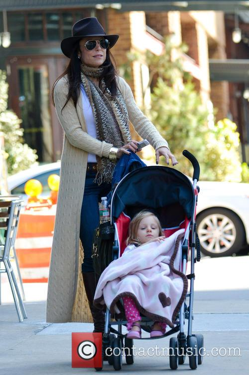 Bethenny Frankel with daughter Bryn Hoppy