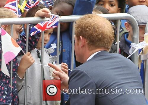 Prince Harry opens Bradbury House