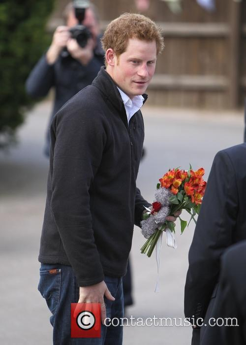 Prince Harry leaves Bradbury House