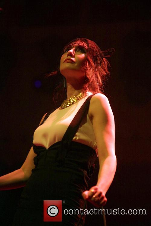Carice van Houten performing live